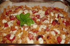 Penne gusto pizza