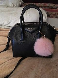 Givenchy-Antigona-Mini-Black-Pebble-Leather