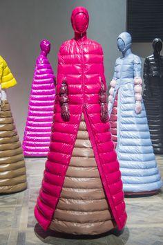 Moncler at Milan Fashion Week Fall 2018 - Livingly Weird Fashion, High End Fashion, Moncler, Jeff Koons, Fashion Brands, Fashion Show, Fashion Design Portfolio, Milan Fashion Weeks, Fall 2018