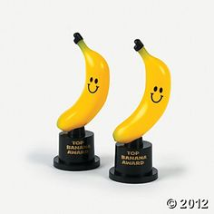 Fun Express Top Banana Award Trophies 1 Dozen for sale online Curious George Party, Curious George Birthday, Banana Party, Wine Gift Baskets, Spelling Bee, Fun Express, Sons Birthday, Birthday Ideas, Monkey Birthday