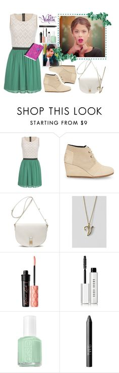 Violetta Style #9 by violetta-leonetta on Polyvore featuring beauty, Bobbi Brown Cosmetics, Benefit, NARS Cosmetics, Essie, Lands' End, Mulberry, maurices, TOMS and Rossetto