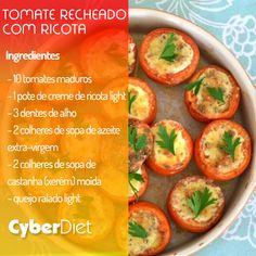 Tomates recheados.