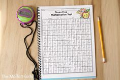 Help your students build fluency with the Multiplication Tests NO PREP Packet. It comes with 3 different versions so that you can target each student's needs. Math Multiplication Games, Fun Math, 2nd Grade Classroom, 3rd Grade Math, Singapore Math, Homeschool Math, Homeschooling, Math Numbers, Math Concepts
