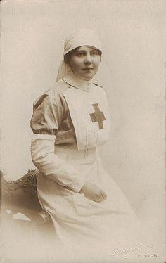 Red Cross Nurse 1900's (Ipswich)