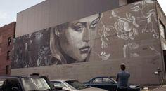 RONE New Mural In Portland, USA
