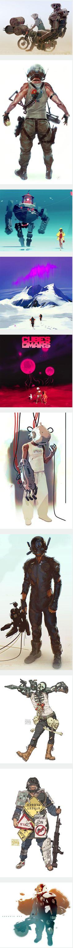 Concept Art by Calum Alexander Watt