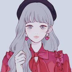 Like An Product Mobile Kawaii Anime Girl, Anime Art Girl, Manga Art, Cartoon Kunst, Cartoon Art, Aesthetic Anime, Aesthetic Art, Art And Illustration, Arte Do Kawaii