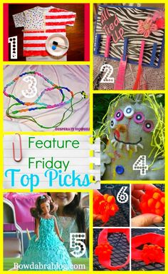 Top Feature Friday crafty DIY gift ideas. Very cute including Kids Activities Blog 4th of July shirt!