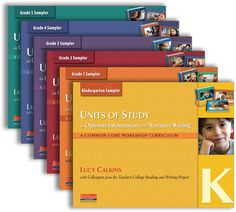 Free samplers of the new Units of Study by Lucy Calkins to revolutionize your primary and intermediate writing workshop instruction.  Available for grades K-5.