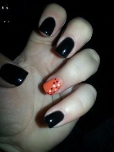 My nails for Halloween ;)