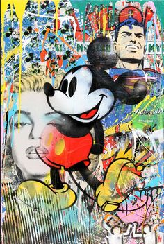 Home décor mickey mouse graffiti street art high quality canvas poster prin Mickey Mouse Pictures, Mickey Mouse Art, Mickey Mouse Wallpaper, Disney Wallpaper, Minnie Mouse, Pop Art Drawing, Cool Drawings, Graffiti Wallpaper, Graffiti Art