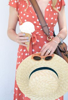 Click through for outfit details! Coney Island // Polka Dots | // Atlantic-Pacific, Blair Eadie