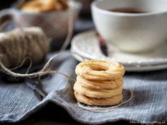 Třené věnečky – PĚKNĚ VYPEČENÝ BLOG Pancakes, Pudding, Cookies, Eat, Breakfast, Desserts, Blog, Winter, Christmas