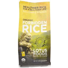 Lotus forbidden rice