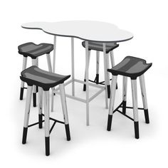 CLOUDIE™ High Collection with TECHSPACE™ Stools. Designed to facilitate any learning space, including STEAM spaces, the CLOUDIE High Collection with TECHSPACE Stools is the ideal zone for small group collaboration and discussion.