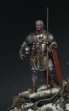 Evоcatus by SergeyPopovichenko · Putty&Paint Roman Armor, Roman Warriors, Roman Legion, Roman Soldiers, Military Figures, Ancient Rome, Roman Empire, Fantasy Art, Medieval