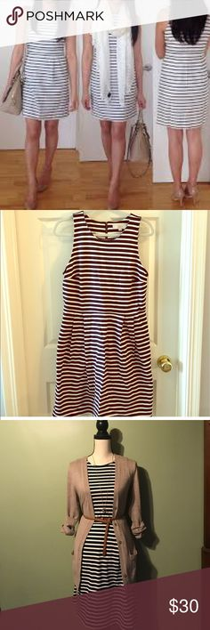 LOFT Striped Dress-NWT LOFT Striped Dress-NWT LOFT Dresses