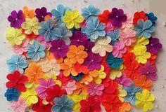 como hacer flores sencillas pero bonitas con papel crepe - Buscar con Google