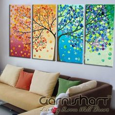The Tree of Four Seasons painting