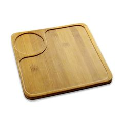 Square Wood Dinner Plates Appetizer Salad Tray Dessert Dish,Bamboo Serving Platter With Cup Holder - Buy Serving Platter With Cup Holder,Bamboo Serving Tray Product on Alibaba.com