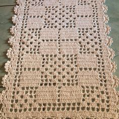 200 33 Butterfly Migration Pattern By Crochet Table Topper, Crochet Table Runner Pattern, Free Crochet Doily Patterns, Crochet Tablecloth, Crochet Squares, Crochet Doilies, Crochet Flowers, Fillet Crochet, Easter Crochet