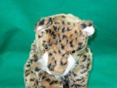 "BIG RAINFOREST CAFE LEOPARD - CHEETAH 21"" SOFT STUFFED ANIMAL PLUSH JAGUAR CAT"