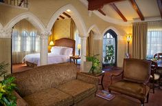 Five Presidential Suites at Spa Resorts: The Mission Inn & Spa, Riverside, California Riverside Hotel, Riverside California, Landmark Hotel, Hotel Design Architecture, Amazing Architecture, Mission Inn, Luxury Accommodation, Hotel Spa, Lodges