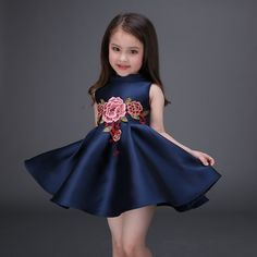 28c718c43b1fe US $26.01 |Aliexpress.com : Buy Fashion 2016 Summer Flowers Embroidery Baby  Girls Dresses Tutu Casual Children Toddler Vestidos De Festa Kids Clothes  ...