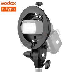 Godox S-Type Bracket Bowens Mount Holder for Flash Softbox Snoot Reflector Studio Photo Soft box Reflector Bracket Holders //Price: $22.31//     #onlineshop