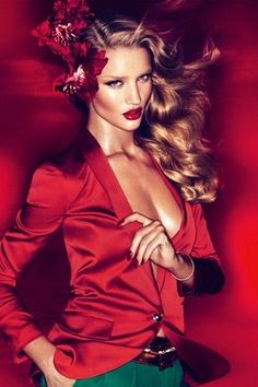 Rosie Huntington Whiteley for Vogue