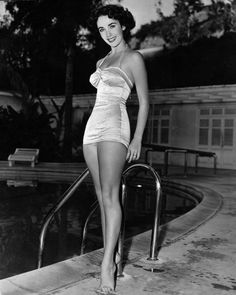 Vintage Swim Suit - Elizabeth Taylor
