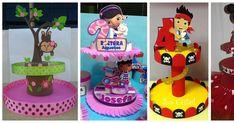Aprende cómo hacer un stand para dulces reciclando cartón y foami Porta Cup Cakes, Cute, Candy Stations, Polymer Clay, Farmhouse, How To Make, Fiestas, Ornaments, Manualidades