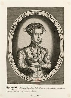 Marie Béatrix de Portugal, duchesse de Savoie (1504-1538), infante de Portugal, troisième enfant du deuxième mariage du roi Manuel Ier de Portugal avec Marie d'Aragon. Elle a épousé en 1521 le duc Charles III de Savoie, elle est la mère d'Emmanuel-Philibert Cock, éditeur