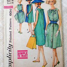 sack dress pattern - Google Search