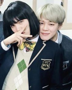 "I saw an AllKpop article about this, and before reading I was like "" okay, Jimin has a girlfriend, how cute - I wonder who it is? "" then I read it and misinterpreted it thinking Suga and Jimin were actually dating ... and then I read it again and finally understood. I was on an emotional roller coaster during lunch ;-;"
