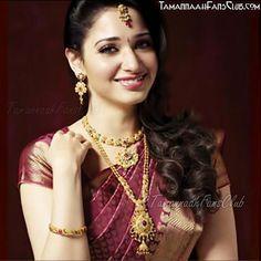 Actor Tamanna For Khazana #Jewellery http://www.khazanajewellery.com/ ~