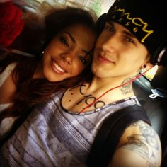 I love this couple they are soooo hot! I think I have a crush on both of them... #cuteinterracial