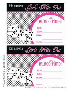 Shindig Parties Bunco Freebie | Scribd