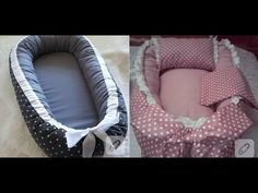 كيفية خياطة سرير اطفال بالقماش - خياطة وتفصيل - YouTube