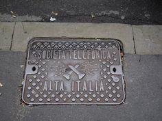 Manhole cover Milan, Milano  via @isetta_windsor