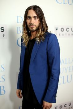 "Jared Leto, ""Dallas Buyers Club"" Premiere, Beverly Hills (Menswear Fall 2013) - Sarah Burton for Alexander McQueen"
