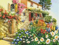 Home Counted Cross Stitch Kit: