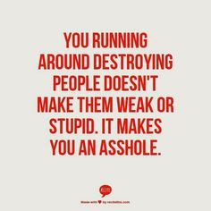 Destroying people. Narcissist Abuse Recovery