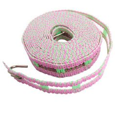 "Amico 3.5M Two Hooks Ends Green Pink Fence Design Outdoor Windproof Clothesline by Amico. $4.87. Color : Green, Pink;Clothesline Length : 3.5M/11.5Ft. Width : 2.1cm/ 0.8"". Product Name : Clothesline;Material : Plastic. Package Content : 1 x Clothesline. Net Weight : 55g. This Clothesline perfect fit for family hanging clothes, anti-slip design can make lots of clothes separately, improve drying effect.The two S shaped hook of outdoor line can be steady on any pole and ..."