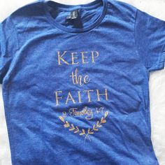 Keep the Faith Short Sleeve Shirt-ellyandgrace
