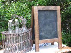Vintage Tabletop Chalkboard