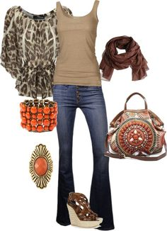 My style.., created by carinabertoloni on Polyvore...Love the giraffe print shirt