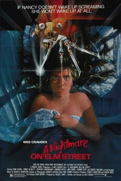 A Nightmare on Elm Street. My favorite horror franchise ever! This was the series that got me into horror movies, you won't find anything like it anywhere else, love Wes Craven for making this series