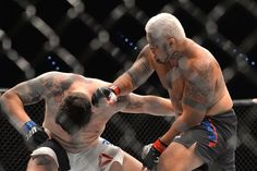 The Super Samoan' Downs Mir in 1st Round KO at UFC 85 in Brisbane