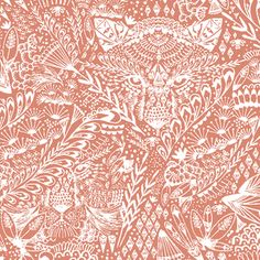 Hawthorne Threads - Bengal - Hide and Seek in Desert Rose